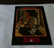 Billy Squier Vintage Trading Card 1991 Heavy Metal Hard Rock Megametal Squire