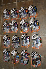 Star Wars LOT of 16 Figures 30th Year Anniversary Collection+ COIN ALBUM &FIGURE