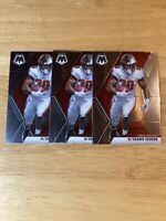 2020 Ke'Shawn Vaughn Lot of 3 Mosaic Rookie RC Tampa Bay Buccaneers