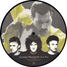 "QUEEN + DAVID BOWIE, UNDER PRESSURE, LTD 7"" SINGLE PICTURE DISC, UK 1999 (AS NEW"