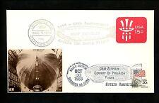 US Postal History #U581+1895 Sarzin Modern Zeppelin Pictorial 1983 NJ 79 OR Dual
