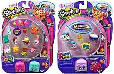 Shopkins S5 (1) 12 Pack + (1) 5 Pack with Bracelet Charms & Petkins Styles Vary