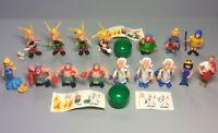 STECKIS: Satz Asterix (mit allen Aufklebern, 3x A.a.Fo. !!!) EU 1991