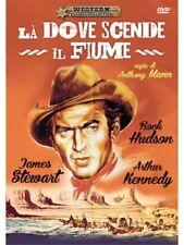 L�€ DOVE SCENDE IL FIUME James Steward A & R Productions - DVD NUOVO