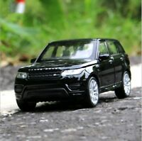 Range Rover Sport Model Cars 1:36 Toys Collection&Gifts Alloy Diecast Black New