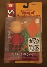 PEANUTS CHARLIE BROWN W/KITE & KITE-EATING TREE- MEMORY LANE  2002 Rare No FACE!