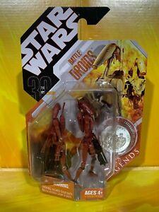 Star Wars - 30th Anniversary - Battle Droids (Maroon Saga Legends)