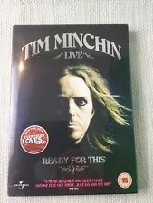 Tim Minchin Live Ready for This DVD New Sealed Musical Comedy Rating 15 W962