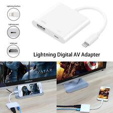 Lightning Vers HDMI Digital AV TV Cable Adaptateur pour iPad Air iPhone 6 7 8 X