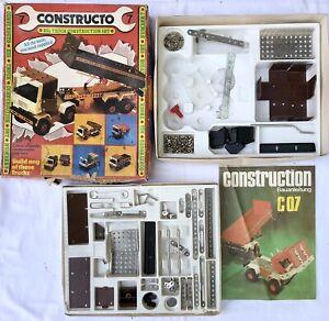 Vintage constructo, Big truck construction set No. 7 German 1980s Building Set