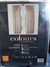 B&Q curtains voile