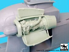 Black Dog 1/48 SH-2G Super Seasprite Helicopter Engine (for Kitty Hawk) A48028