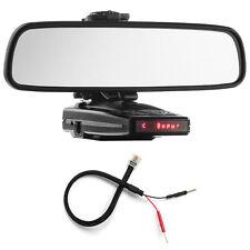 Mirror Mount Bracket + Mirror Wire Power Cord for Escort 9500ix X50 8500