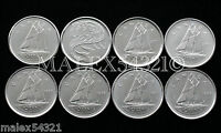 🇨🇦CANADA 1996 TO 2002P SET OF 10 CENTS UNC (8 COINS)
