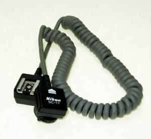 NIKON SC-17 OFF CAMERA TTL 5 FOOT LONG FLASH CORD, SHIP WORLDWIDE