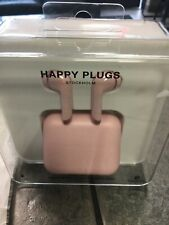 Happy Plugs Air1 In-Ear  Bluetooth Wireless Headphones AirPod style Pink/Gold