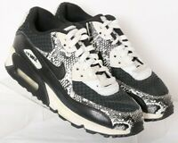 Nike 724875-001 Air Max 90 Prem Black Lace-Up Running Sneakers Youth US 5.5Y