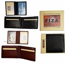 Men's Wallet Leather Bifold wallet Zip Pocket 2 Billfold 9 Card 2 ID New in Box
