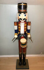 Vintage 5 Ft Tall Nutcracker LOCAL PICKUP ONLY