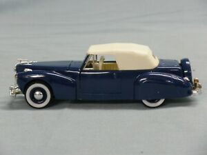 Rio vintage diecast models, 1941 Lincoln Continental Cabriolet  1:43 SCALE