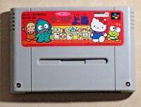 Sanrio Shanghai SNES SFC Nintendo Super Famicom Hello Kitty game Japan