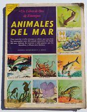 Animales del mar Edition Novaro-Mexico ,S.A. ,1958