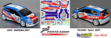 Fiat Punto S2000 -  LOIX  Rally Madeira 2006 /   TSJOEN  -  Rally Ypres   2006