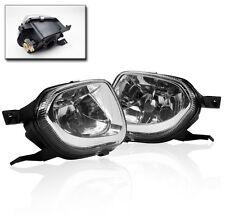 2003 2004 2005 2006 MERCEDES W211 E320 E350 E500 CHROME BUMPER FOG LIGHTS LAMPS