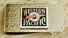 Western Pacific Railroad Money Clip