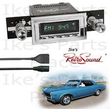 RetroSound 64-67 GTO/LeMans/Tempest Hermosa-C Radio/RDS/USB/Mp3/3.5mm AUX-IN
