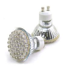 100 x White 38 LED Spot Track Light Bulb 110V AC GU10