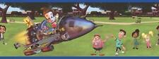 Cartoon Adventures of Jimmy Neutron & Friends Rocket Ship Wallpaper Wall Border