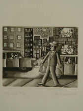John August Swanson - 9/70 CityWalk 1977- Etching / Complete Book