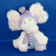 Russ - Emma Elephant Small Plush - Hat Scarf - NEW