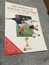 Merlin World Cup Italia 1990 Football Sticker Album Empty Unused Excellent