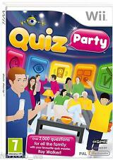 QUIZ PARTY (Wii) Over 2000 family trivia questions with Roy Walker =NEW+SEALED✔
