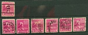 USA Stamps - Scott no 808 - Shades and Cancels study - used --