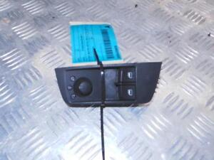 AUDI A1 POWER WINDOW SWITCH RH FRONT (MASTER SWITCH), 3DR HATCH, 8X, 12/10-05/13
