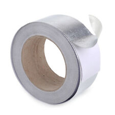 25m x 4.7cm Aluminum Reinforced Tape Heat Resistant Shield Wrap for Intake Pipe