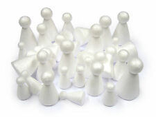 30 Assorted Polystyrene Cone Puppets People Angel Bodies Decorate Paint 3 Sizes