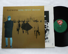 PLAYMATES Long sweet dreams UK Orig LP + Inner WHAT GOES ON Records(1986) EX/EX+
