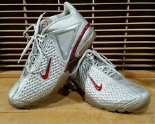 Nike Zoom Air Max 2003 Mens Size 11.5 Silver Burgundy Y3-N Great Condition