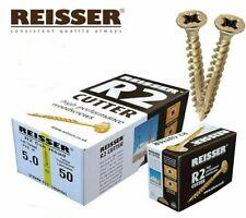 5.0 mm x 50 mm 10 g Premium Vis à bois Cutter Fil Pozi Couronne tchécoslovaque TimberFix 360 Gold
