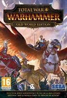 TOTAL WAR WARHAMMER OLD WORLD EDITIO EN CASTELLANO ESPAÑOL NUEVO PRECINTADO PC