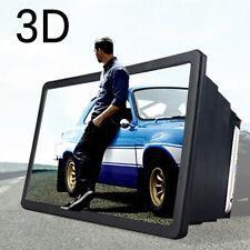 Lightweight Smartphone Screen Magnifier 3D HD Video Amplifier For iPhone Samsung