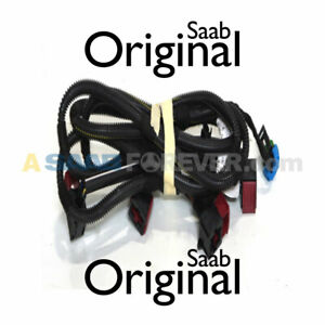 NEW SAAB 9-3 03-11 Fog Light Wiring Harness FRONT BUMPER 12767810 GENUINE OEM