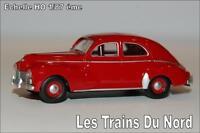 Peugeot 203 rouge grenat éch HO 1/87 éme BREKINA SAI 2502