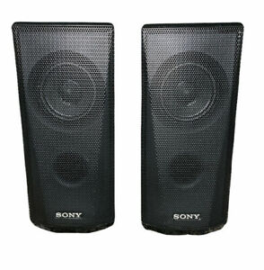 Sony Surround System Speakers SS-TSB122 Left Front Right Front Speaker Set