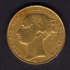 Australia.  1855 Sydney Mint - Sovereign..  aVF - Trace Lustre..  RARE