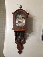 Vintage Warmink Dutch Moonphase Wall Clock